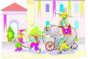 cirkus skattejagt til børnefødselsdag