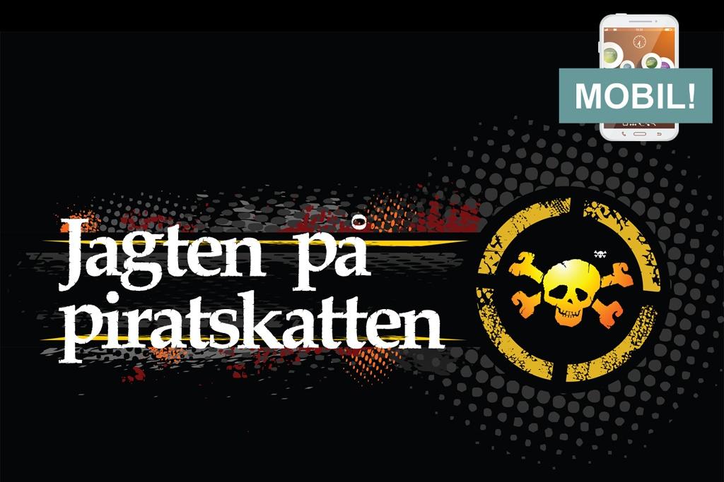 10 års fødselsdag mobilskattejagt pirat