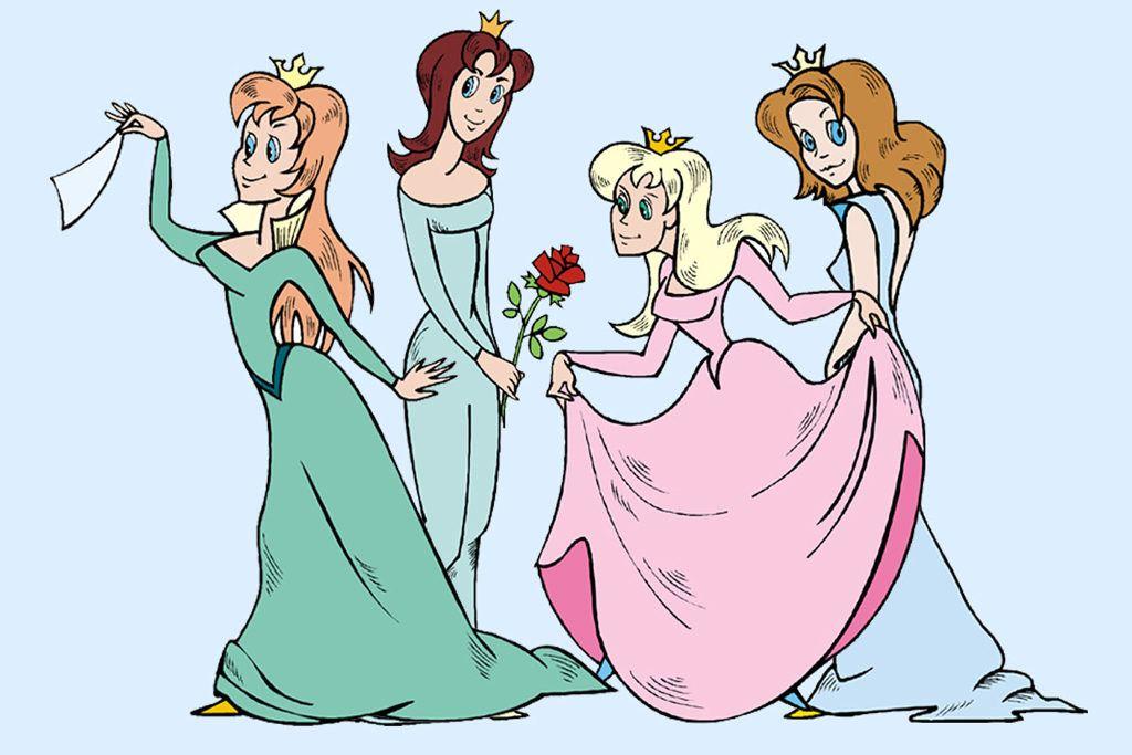 skattejagt til prinsessefødselsdag