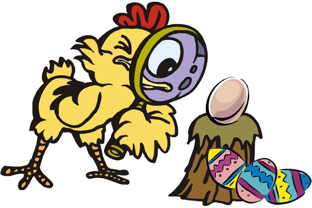 æggejagt påske