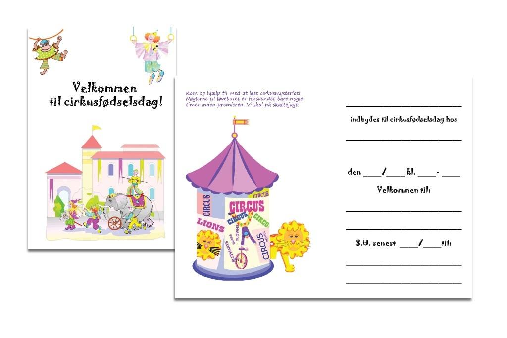 invitation børnefødselsdag