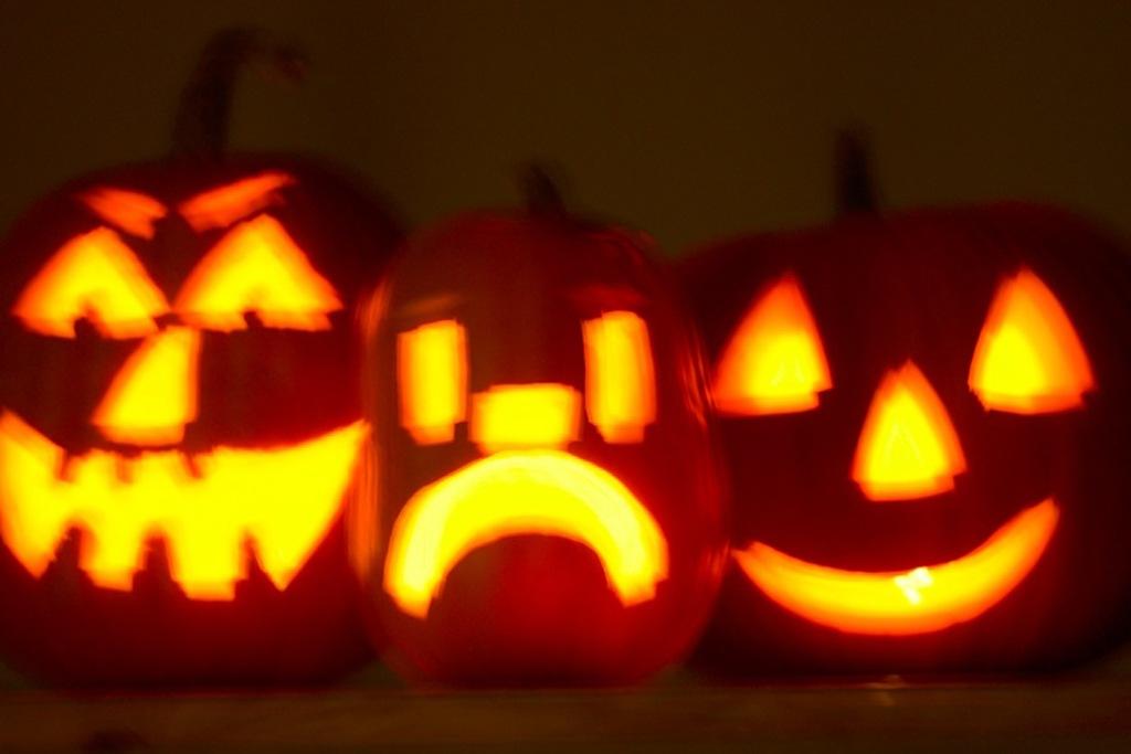 bordplansleg halloween