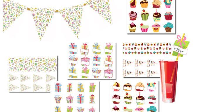 dekorationsmateriale fødselsdag