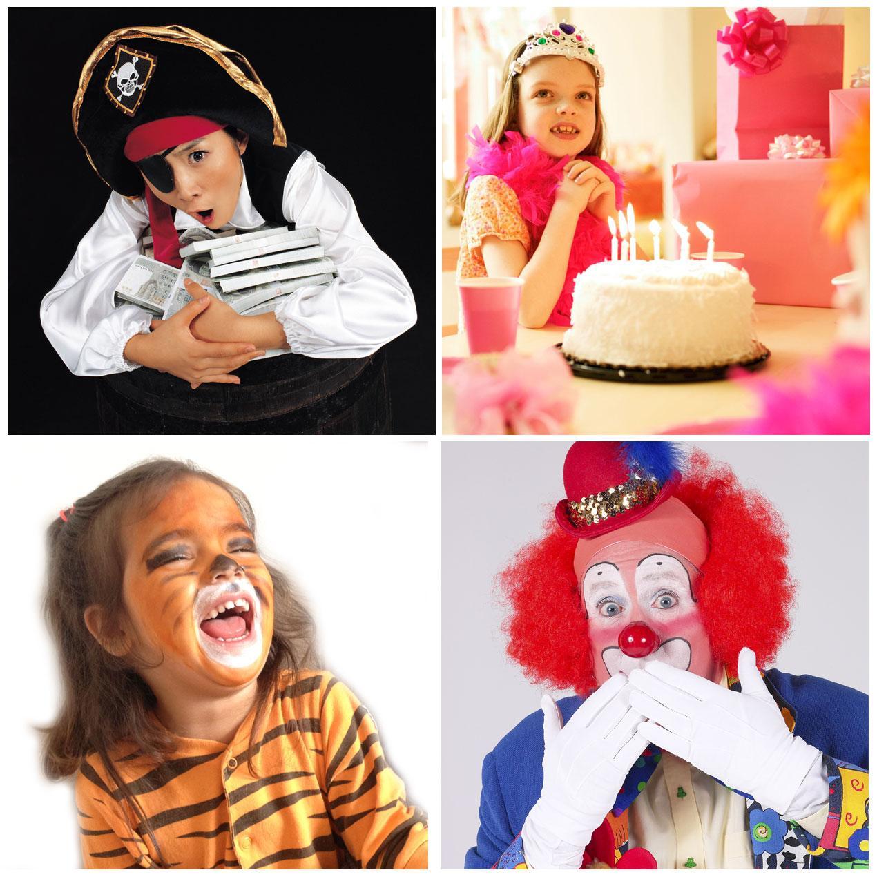 tema til børnefødselsdagen