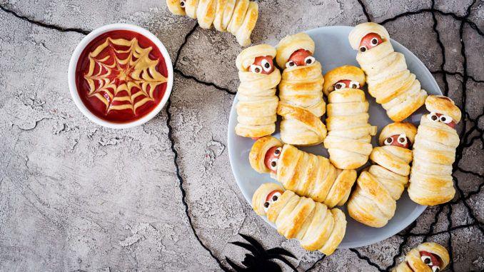 halloweenlækkerier, halloweenfest